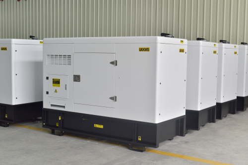 50KVA Silent Generator with UKKMS engine