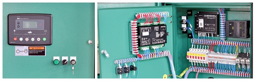 Deepsea controller for genset